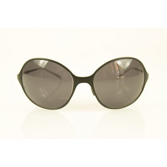 Christian Roth CR 14249 BK Unisex Titanium Black Aviator Sunglasses