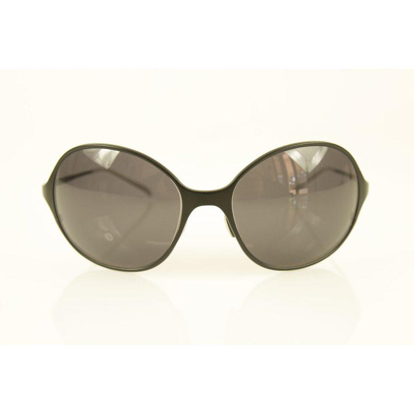 Christian Roth CR 14249 BK Unisex Titanium Black Aviator Sunglasses