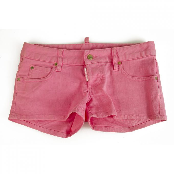 Dsquared 2 Pink Cotton Bermuda Shorts Summer Holiday - Size 40