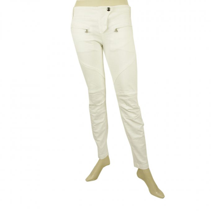 Dondup White Skinny Denim Jeans Cotton Trousers Pants sz 27 code 3844432