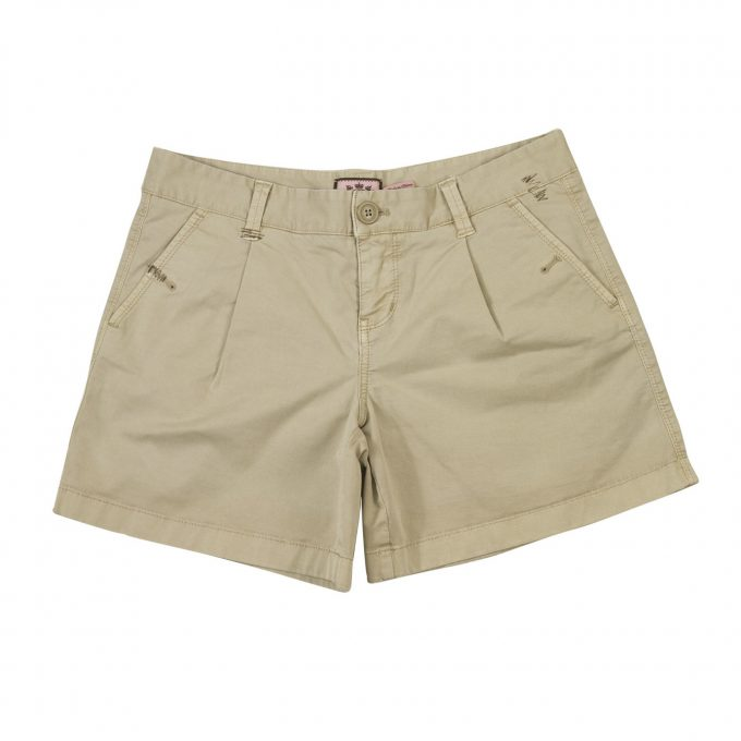 Juicy Couture Sand Beige Bermuda Shorts Summer Holiday - Size 6