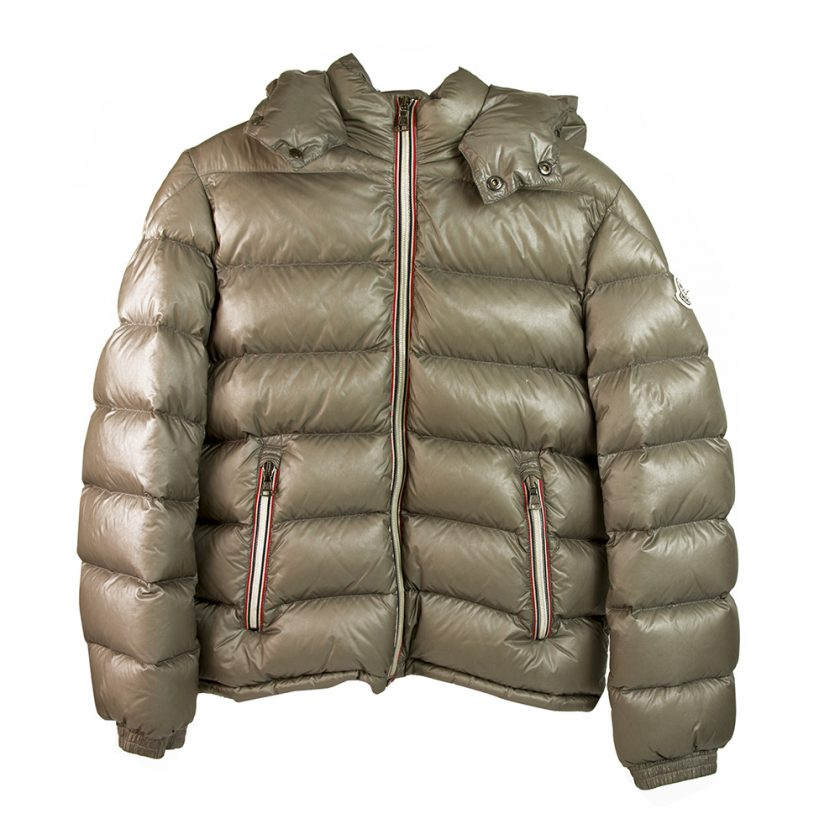 Moncler New Gaston Giubbotto Taupe Puffer Hooded jacket for 12years or 152cm height