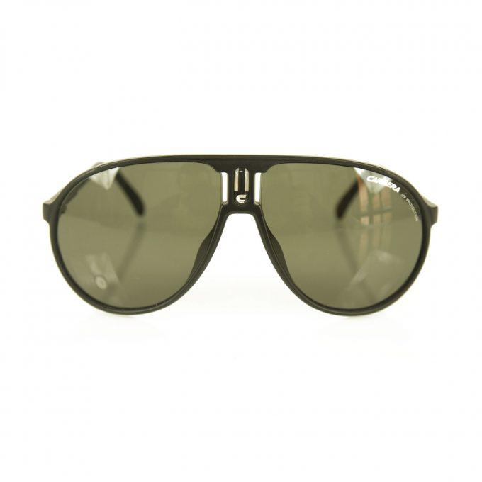 Carrera Champion / L DL5 - QT Aviator Shaped Black Sunglasses