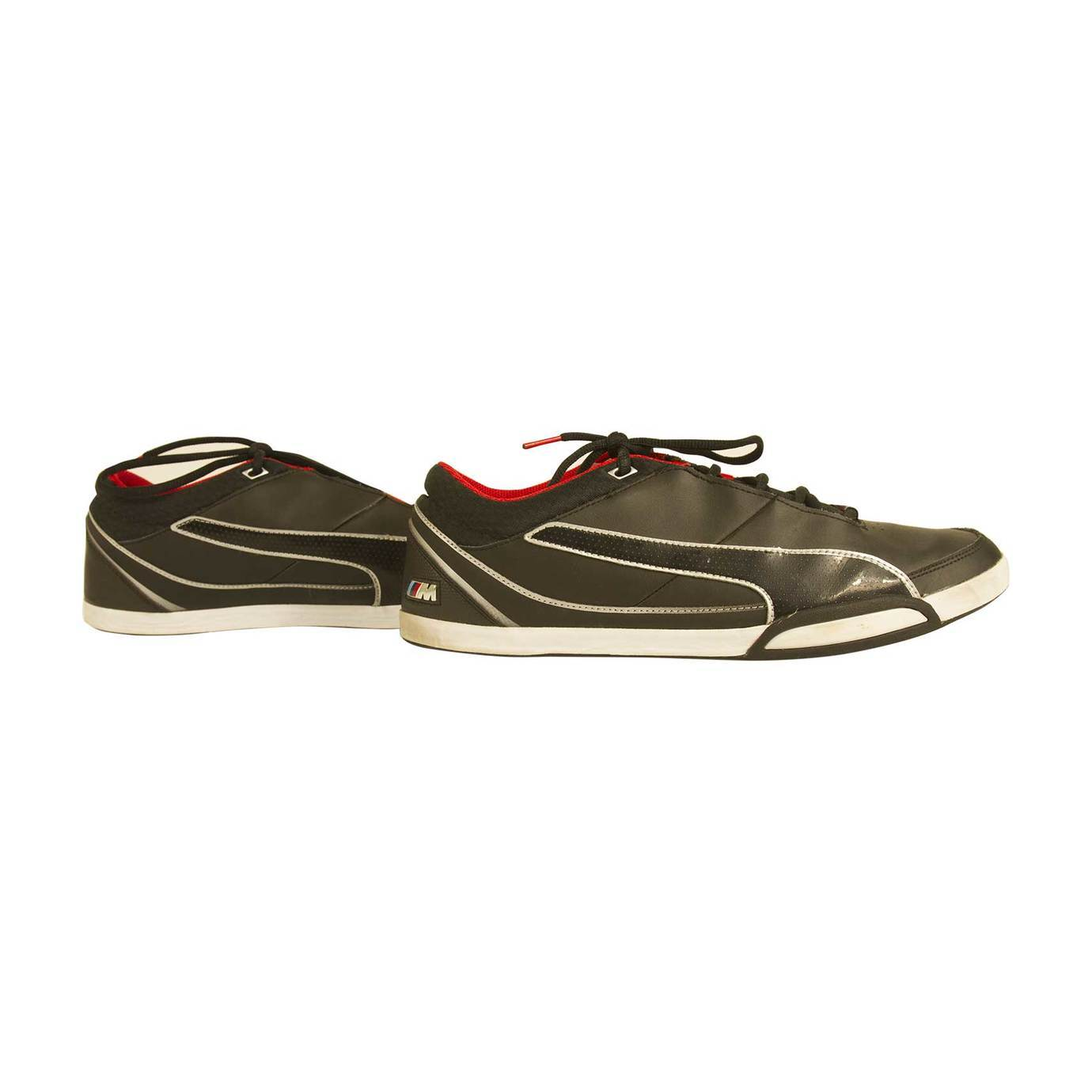 Puma BMW M series Black leather Shoes Sneakers Trainers EU 45 US 11,5 UK 10,5