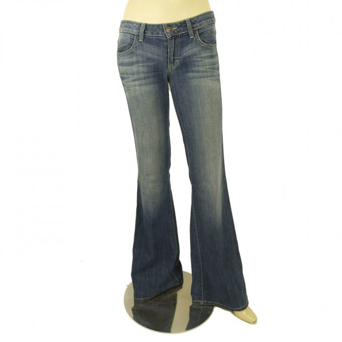 Siwy USA Anita Blue Washed Bootcut Boot Cut Jeans Denim Pants 26