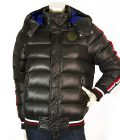 Diesel Black Quilted Puffer Bomber Warm Winter Jacket Women size S or boys 13